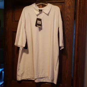 Nike 4XL Dry Fit Polo. White.  Brand New